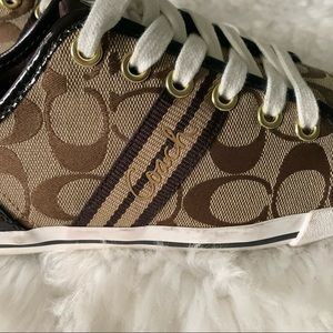 Coach Shoes - Coach folly tennis shoes size 7.5 women's